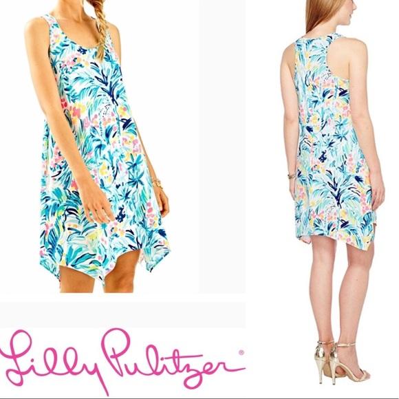 1e2e1731f0e9d5 Lilly Pulitzer Dresses & Skirts - Lilly Pulitzer Melle Trapeze Dress